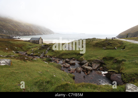 Keem Bay on Achill Island - Stock Photo