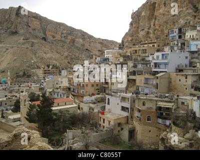 Syria Syrien Maalula  Qalamun Gebirge - Stock Photo
