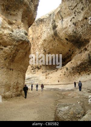 Syria Syrien Maalula  Qalamun Gebirge Canyon Schlucht - Stock Photo