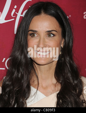 DEMI MOORE US film actress in September 2011. Photo Jeffrey Mayer - Stock Photo