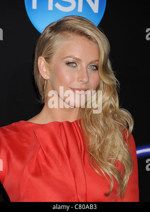 JULIANNE HOUGH  US TV personality and actress in September 2011. Photo Jeffrey Mayer - Stock Photo