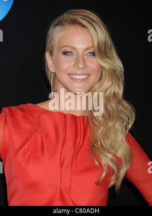 JULIANNE HOUGH US TV personality in September 2011. Photo Jeffrey Mayer - Stock Photo