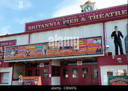 Britannia Pier and Theatre Great Yarmouth Norfolk England Uk - Stock Photo