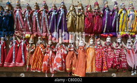 Traditional dolls Jaisalmer Rajasthan India