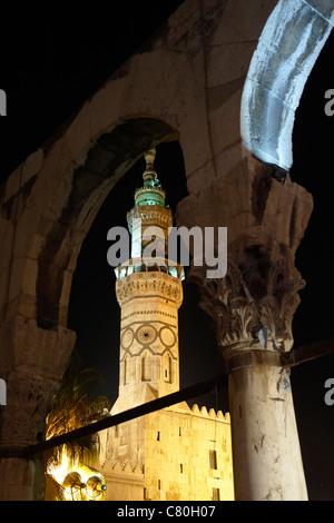 Syria, Damascus, Umayyad Mosque. - Stock Photo