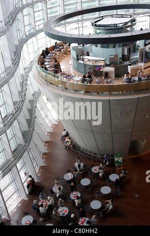 Japan, Tokyo, Roppongi National Art center - Stock Photo