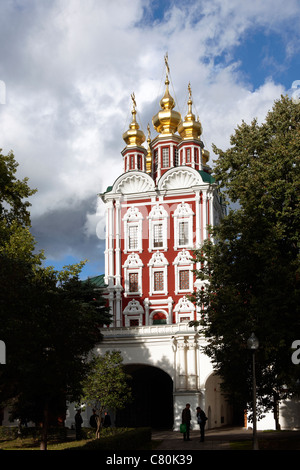 Russia, Moscow,Novodevichy Monastery - Stock Photo