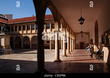 Historical university building Oviedo Asturias Spain - Stock Photo