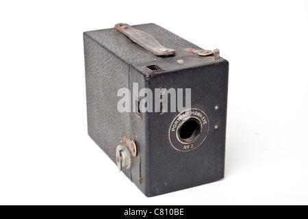 Kodak box brownie camera - Stock Photo