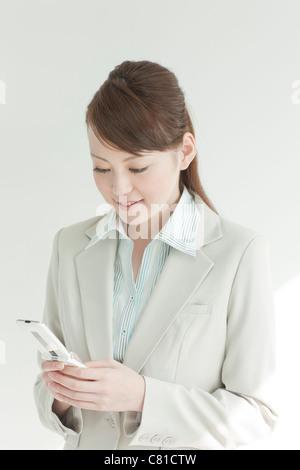 Businesswoman On Phone - Stock Photo