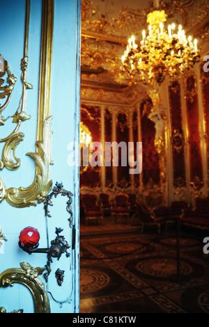 The Boudoir of Empress Maria Alexandrovna, Hermitage Museum, St. Petersburg, Russia - Stock Photo