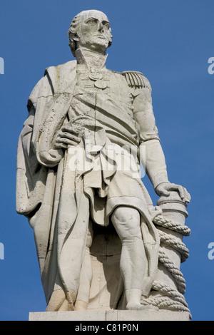 England Tyne&Wear Tynemouth Collingwood monument - Stock Photo