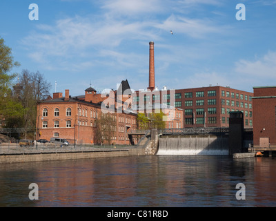 The city of Tampere in southern Finland has a rich industrial past. - Stock Photo