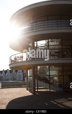 De La Warr Pavilion, Bexhill, East Sussex, England, UK - Stock Photo