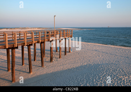 Alabama dauphin island beach stock photo royalty free for Dauphin island fishing pier