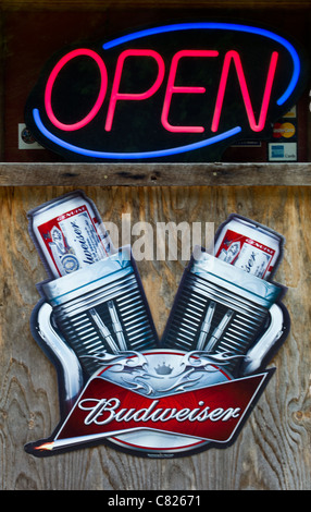 U.S.A. Missouri, Fanning, detail of a shop window on the Route 66 - Stock Photo