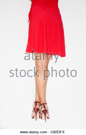 Woman from behind - Stock Photo