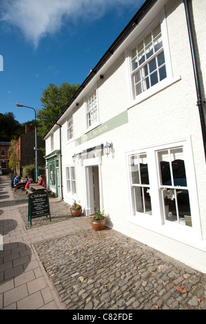 The Checkers restaurant in Montgomery Powys mid wales, awarded one star by the Michelin guide on 7 Oct 2011 - Stock Photo