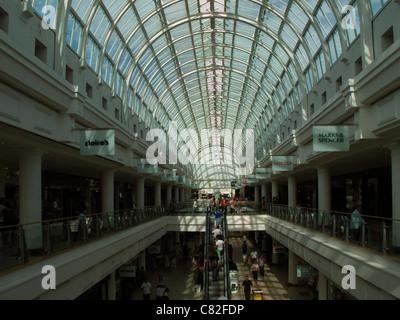 Royal Priors Shopping Centre, Leamington Spa, Warwickshire, England - Stock Photo