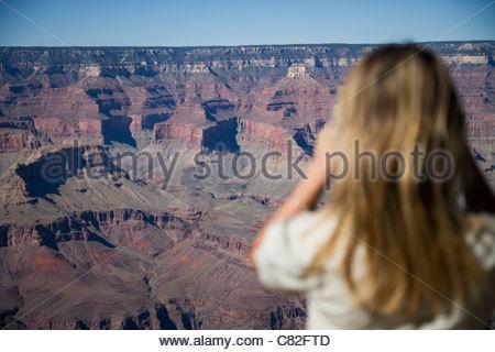 USA, Arizona, Grand Canyon, National Park - Stock Photo