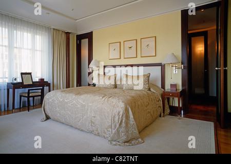 Suite in the Hotel Adlon Kempinski Berlin Germany. - Stock Photo