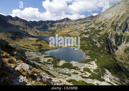 Valley of the Five lakes, in Poland. - Stock Photo