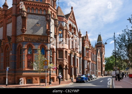 The Town Hall, Museum and Art Gallery, Blagrave Street, Reading, Berkshire, England, UK - Stock Photo