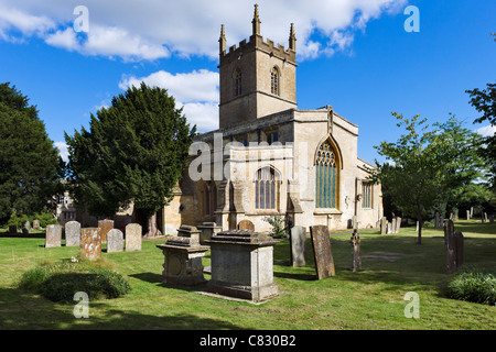 St Edward's Church, Stow-on-the-Wold, Gloucestershire, England, UK - Stock Photo