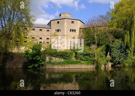 1811 Old prison Gaol, Abingdon, Oxfordshire - Stock Photo