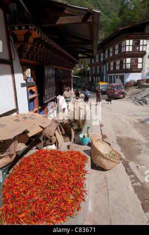 Trashigang. Eastern bhutan - Stock Photo
