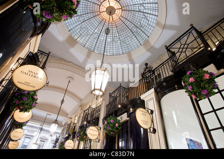 Piccadilly Arcade, London, England - Stock Photo