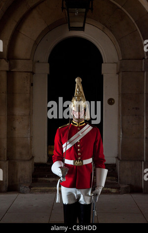 Queen's Life Guard, London, England - Stock Photo