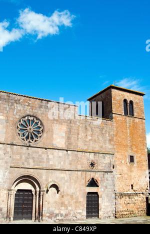 Church of Santa Maria della Rosa, Tuscania, Viterbo Province, Latium, Italy - Stock Photo