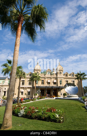 Monaco, Casino, Cote d'Azur - Stock Photo