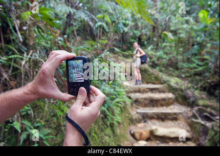 Kinabalu National Park, Malaysias highest mountain (4095m), Sabah, Borneo, Malaysia - Stock Photo