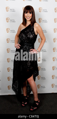 Welsh television presenter Alex Jones, known for her presenting of The One Show.