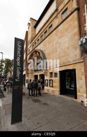 Whitechapel Art Gallery, London, England, UK. - Stock Photo