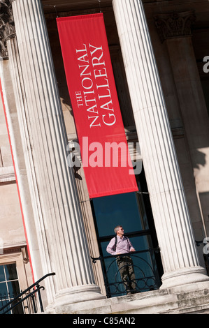 the national gallery, london, england - Stock Photo