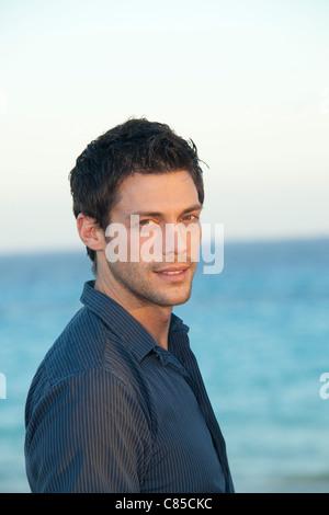 Portrait of Man, Playa del Carmen, Mexico