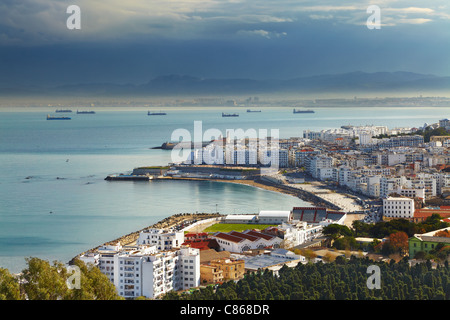 Algiers the capital city of Algeria, Northern Africa - Stock Photo