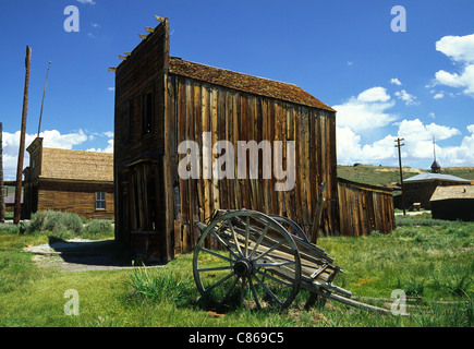 Bodie Ghost Town, California - Stock Photo