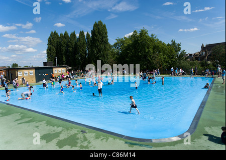 Childrens Paddling Pool Play Area Madeira Portugal Stock Photo Royalty Free Image 61374965 Alamy