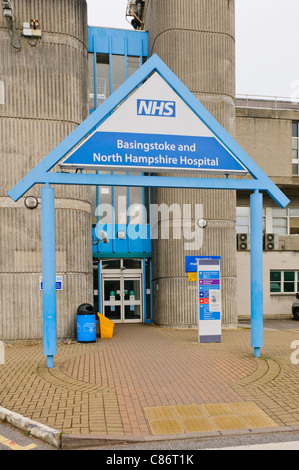 Basingstoke and North Hampshire Hospital - Stock Photo