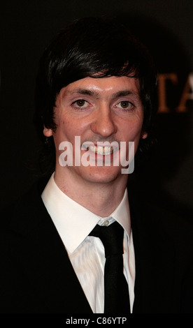 DUBLIN, IRELAND - FEBRUARY 14: Liam McMahon arrives at the 6th Annual Irish Film and Television Awards at the Burlington - Stock Photo