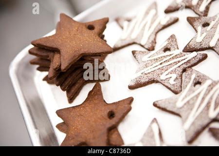 Cookie Ornaments, Toronto, Ontario, Canada - Stock Photo