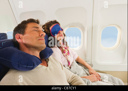 man wearing sleeping mask in bed stock photo royalty free. Black Bedroom Furniture Sets. Home Design Ideas