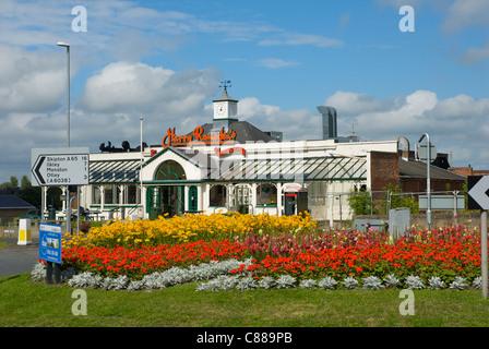 Harry Ramsden's fish & chip Restaurant & Take-away, Guiseley, Leeds, West Yorkshire, England UK - Stock Photo