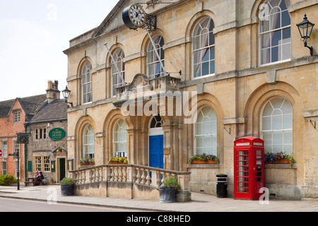 Town Hall Corsham Wiltshire England - Stock Photo