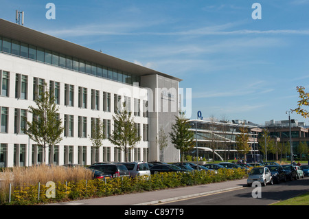 The Telefonica UK / O2 headquarters in Slough, England. - Stock Photo