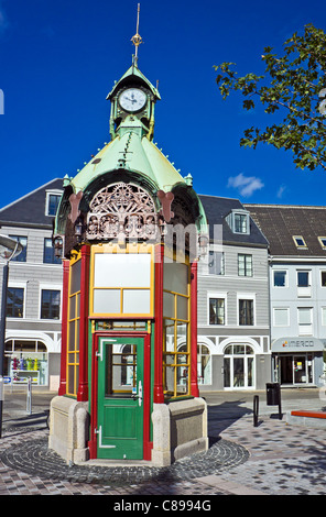 Nytorv In Aalborg Jutland Denmark with Jensens Bøfhus in the old Stock Photo, Royalty Free Image ...